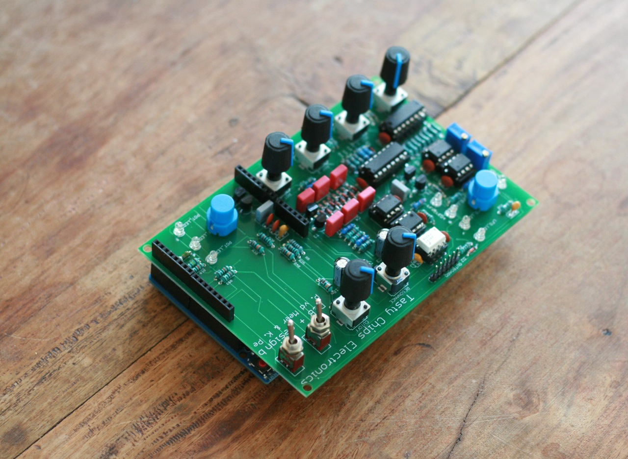 First Saw Bench Synth PCB
