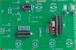 220 nF capacitors on the digital board