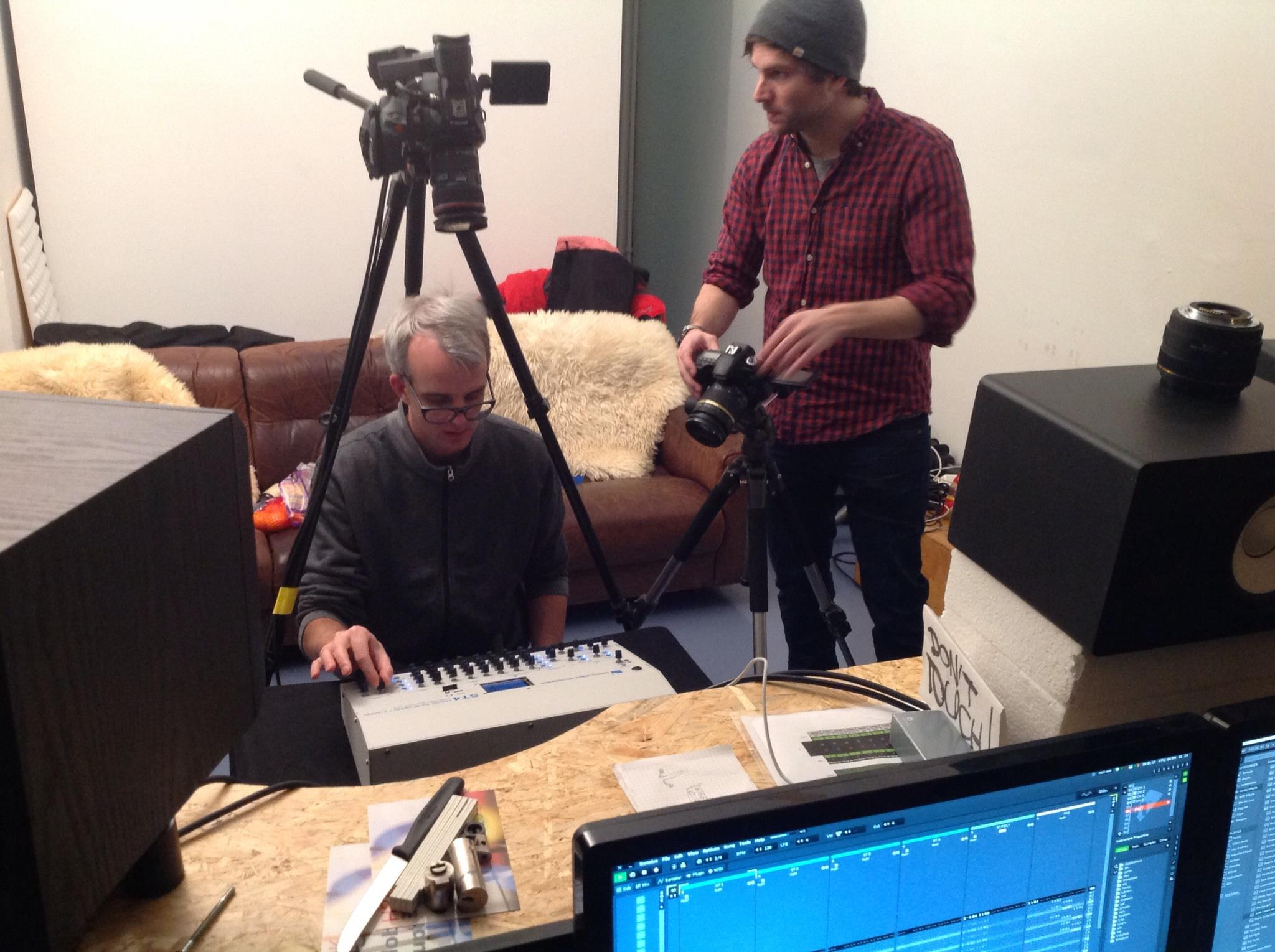 Studio demonstration of the ST4.