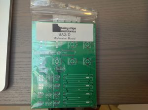 Mod board kit (bag D), front.
