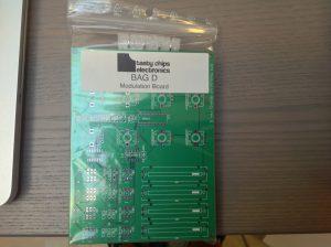 Mod board kit (bag D), front.