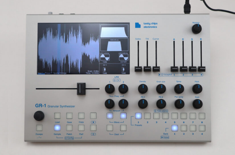 GR-1 Granular synthesizer